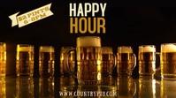Happy Hour Bar Digital Template