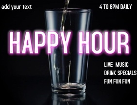 HAPPY HOUR BAR HAPPY HOUY