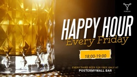 Happy Hour Bar Video Ad template
