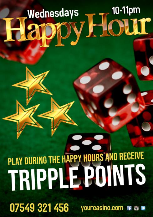 Happy Hour Casino Poster