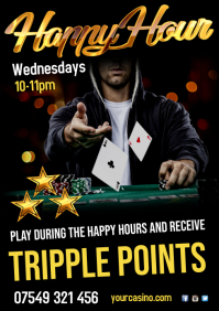 Happy Hour Casino Poster