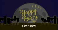 HAPPY HOUR Facebook Event Cover template