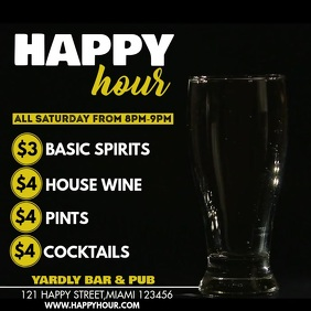 950 Happy Hour Customizable Design Templates Postermywall