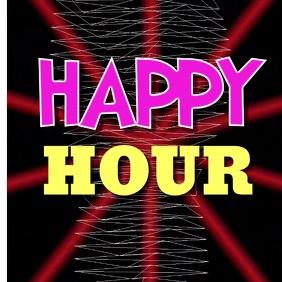 Happy Hour Digital Marketing Flyer