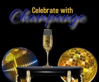 happy hour drinks champagne restaurant menus สามเหลี่ยมขนาดใหญ่ template