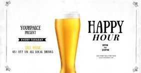 Happy Hour facebook Flyer Template