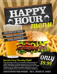 Customizable design templates for happy hour postermywall happy hour similar design templates maxwellsz