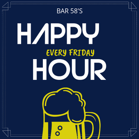 Happy Hour Instagram Template