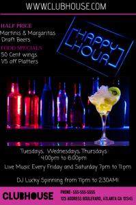 Happy Hour Flyer Ideas Zlatanfontanacountryinncom