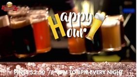 Happy Hour Video Ad Template