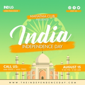 Happy Independence Day of India Social Media