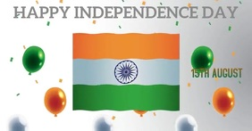 HAPPY INDEPENDENCE DAY TEMPLATE Facebook Event Cover