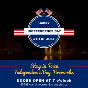 Happy Independence Day Wish Video Template