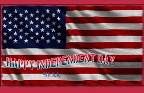Happy independent day template