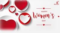 Happy International Women's Day Presentation (16:9) template