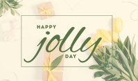 Happy Jolly Day Template Tag