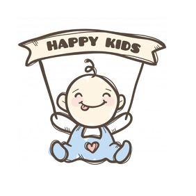 happy kids logo