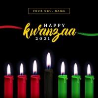 Happy Kwanzaa 2020 Template Instagram-opslag