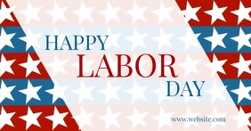 Happy labor day Imagen Compartida en Facebook template