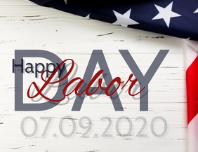 Happy Labor Day Template
