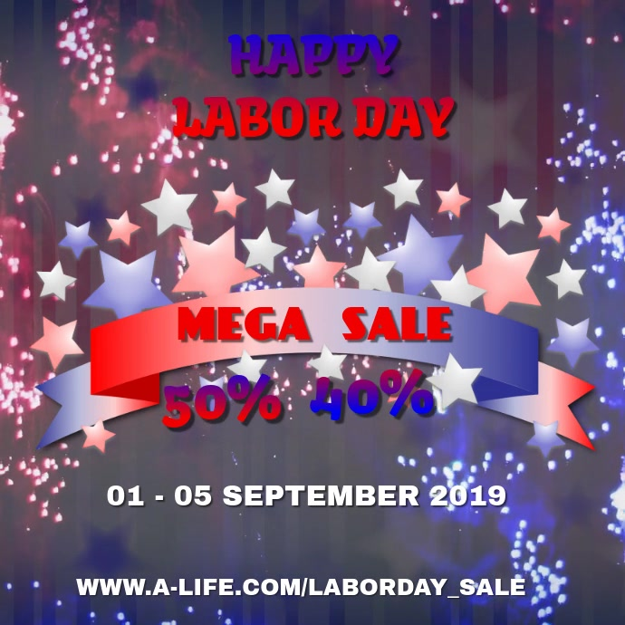 Happy Labor Day Video Design