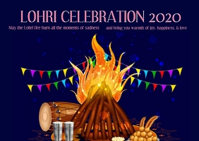 Happy Lohri Celebration
