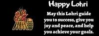 Happy Lohri Facebook Cover Photo template