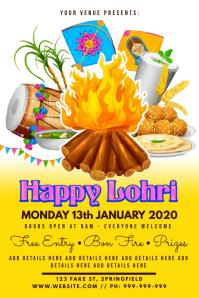 Happy Lohri Poster
