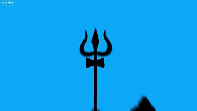 Happy Maha shivratri wishes Animated Viedo 数字显示屏 (16:9) template
