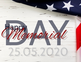 Happy Memorial Day Template