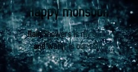 Happy monsoon template Imagem partilhada do Facebook