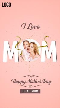 happy mother's day 2021 История на Instagram template