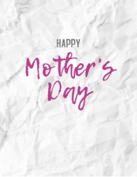 Happy Mother's Day Colorful Flower Animation