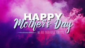 Happy Mother's Day Umbukiso Wedijithali (16:9) template