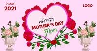 Happy Mother's Day auf Facebook geteiltes Bild template