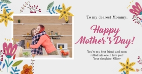 Happy Mother's Day Gedeelde afbeelding op Facebook template