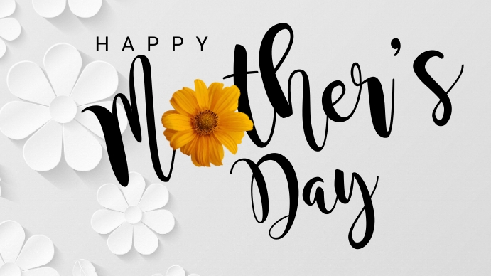 Happy Mother's Day Digital Display (16:9) template