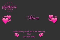 Happy Mother's Day Iphosta template