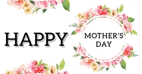 Happy mother's day facebook template