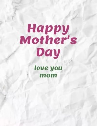 Happy Mother's Day Flower Animation Video