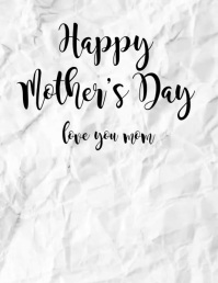 Happy Mother's Day Flowers Animation Video