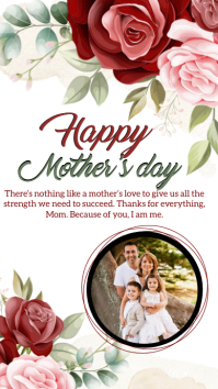 happy mother's day instagram story template