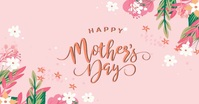 HAPPY MOTHER'S DAY MESSAGE CARD Template Immagine condivisa di Facebook
