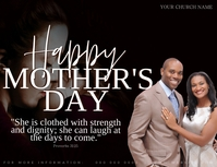 HAPPY MOTHER'S DAY ONLINE CARD TEMPLATE Volante (Carta US)