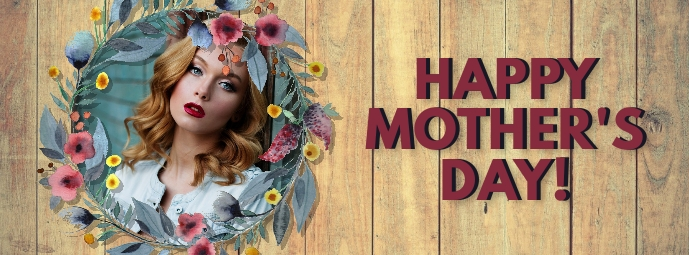 Happy Mother's Day Photo Instagram Post Facebook 封面图片 template