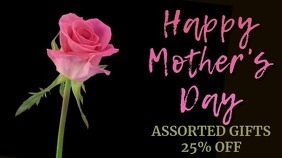Happy Mother's Day Video Ad Template Digital Display (16:9)