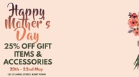 Happy Mother's Day Video Ad Template Digitale Vertoning (16:9)