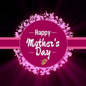 Happy Mother's Day Video Flowers Roses Online Greeting Card