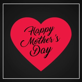 Happy Mother's Day Video Heart Greeting card