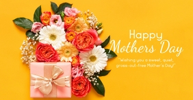 Happy Mother's Day wishes text message flower